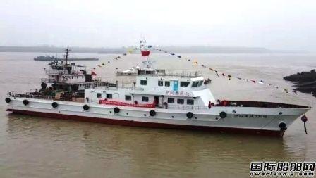 """同方江新""""中国渔政33310""""号渔政船下水"""