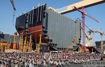 大宇造船要求生产工人返还20%工资
