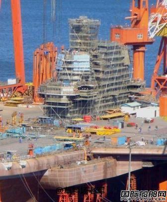 中国国产航母确切下水日期曝光