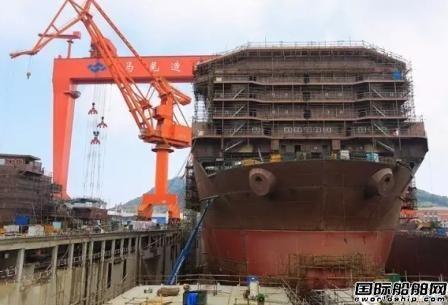 马尾造船全球首制深海采矿船进坞搭载