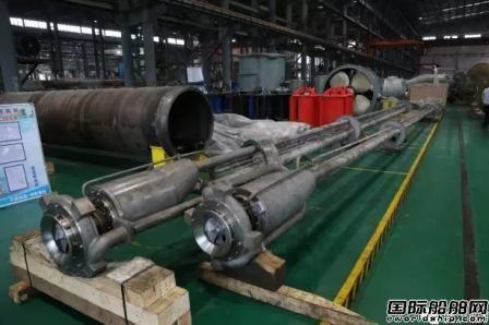 武汉船机首次批量交付潜液泵系统