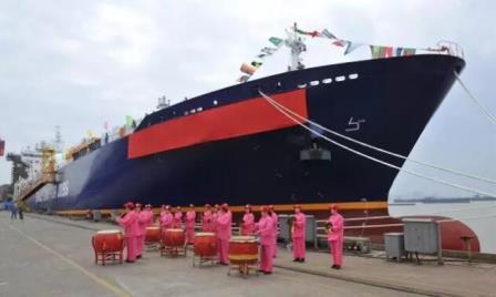 扬子江船业首制27500m3LNG船命名