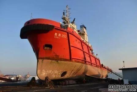 胜利油田修船厂一季度完成10艘船坞修