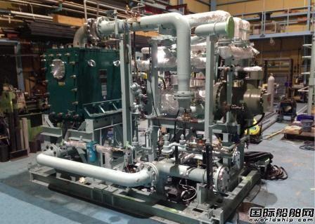 神户制钢推出世界首套船用循环发电系统