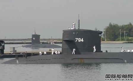 """台船""""自造潜艇""""没敢定时间表"""