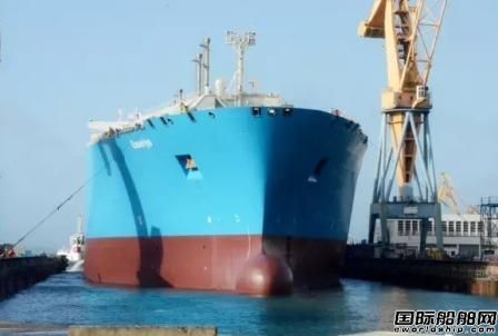 """达门Brest修船厂完成""""Gaselys""""号LNG船维护"""