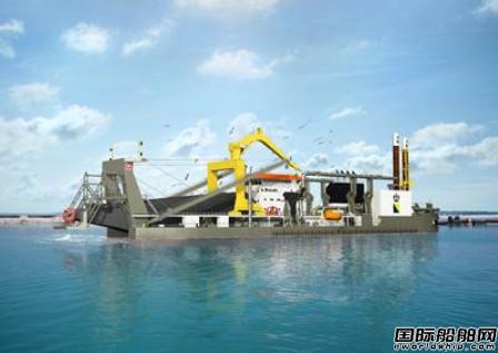Boskalis订造巨型自航绞吸挖泥船