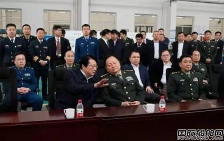 中央军委委员张又侠视察中船重工某研究所