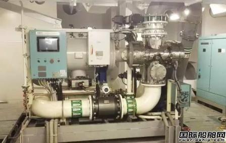 """""""海盾""""压载水系统通过韩国船厂验收"""
