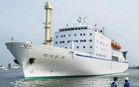 """揭秘朝鲜最神秘的""""国宝船"""""""
