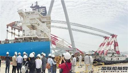 舟山常石造船推出造船主题旅游项目