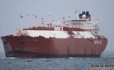10万吨级LNG船太平洋中触礁船壳破裂