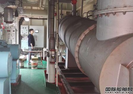 南通亚泰首套燃烧式惰性气体系统调试成功