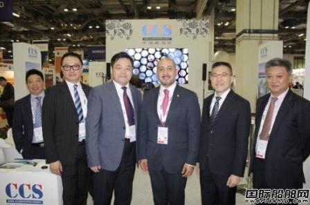 中国船级社参加SeaAsia国际海事展