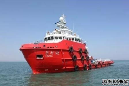 """黄海造船建造溢油回收船""""胜利505""""成功试航"""