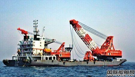 遭印尼抓扣中国籍船系国内最大抓斗挖泥船