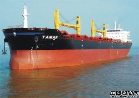 """散货船""""Tamar""""轮爆炸致2死2伤"""