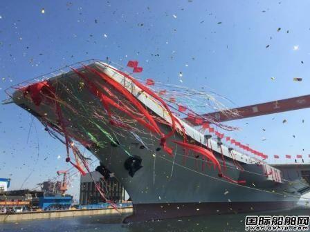 中国首艘国产航母今日下水
