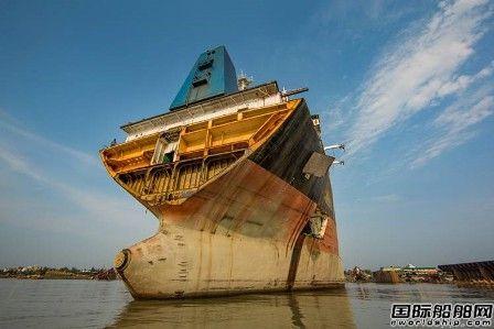 一季度全球共有196艘船拆解处理