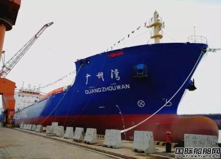 青岛武船交付中远海运特运最大沥青船