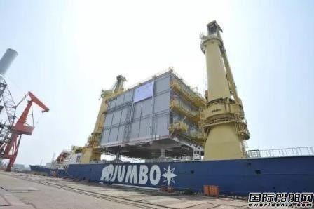 大船船务又一海工电气模块成功交付