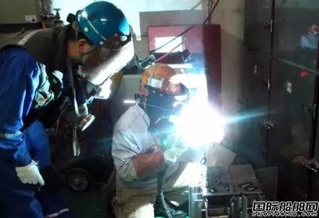 上海中远船务铝合金焊接工艺取得新突破