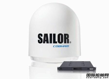 Cobham卫星通信推动船舶数字化革命