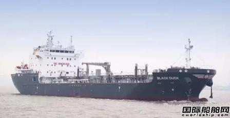 上船院设计7800吨沥青船获船东点赞