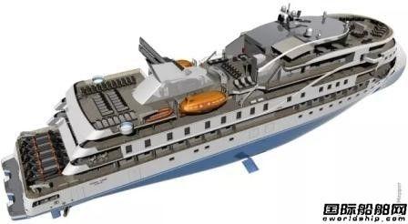 招商局重工极地探险邮轮设计披露