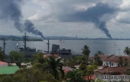 哥伦比亚两船厂接连爆炸致6死22伤