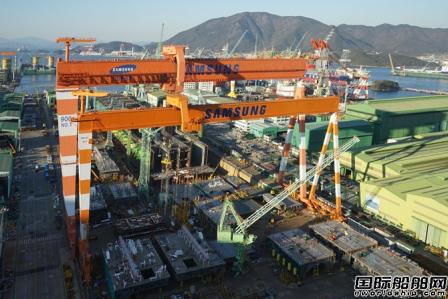 三星重工获2艘LNG船订单