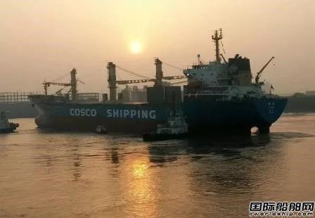 上海中远船务成功自修板式中央冷却器