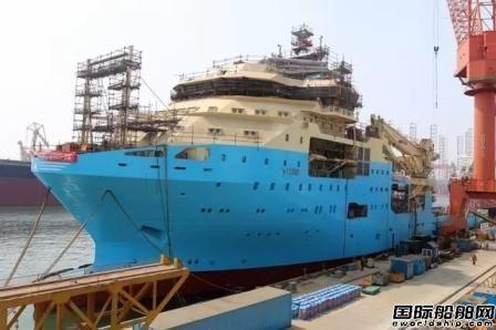大连中远船务SSV二号船完成动车