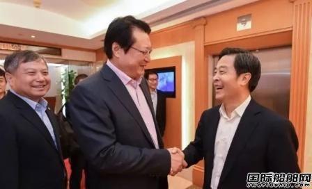 胡问鸣拜访招商局集团并视察中船资本