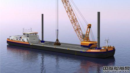 MAN Rollo发电机组获LNG起重船订单