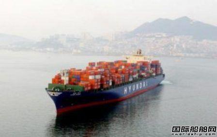 现代商船亚美线箱运量大幅上升