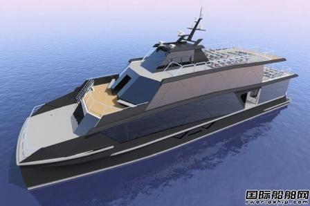 Incat Crowther新推革新生态旅游船