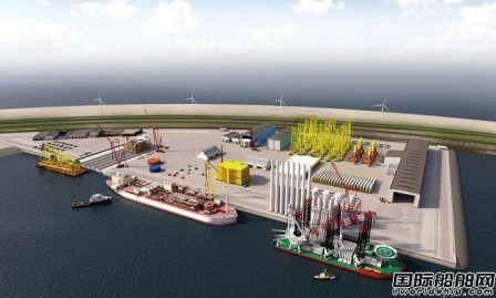鹿特丹港将在海上建立新海工中心