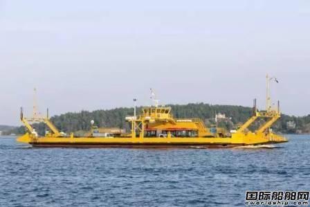 达门瑞典修船厂中标一艘渡轮合同