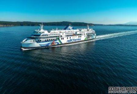 BC Ferries与修船厂签订5年修船协议