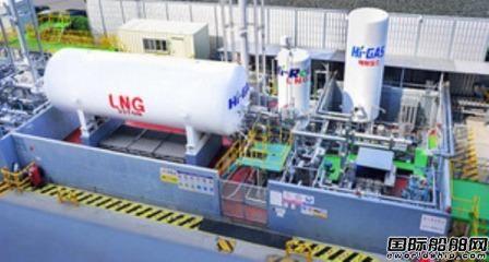现代重工公开LNG船综合型实证设备