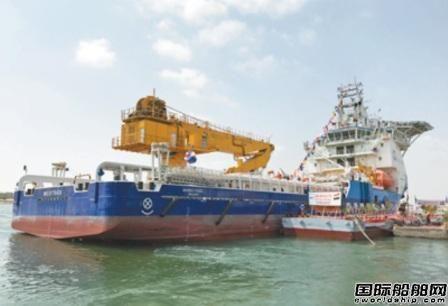 中国建造平台供应船成功进入埃及市场