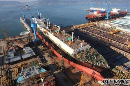 韩国三大船企手持订单量包揽全球前三