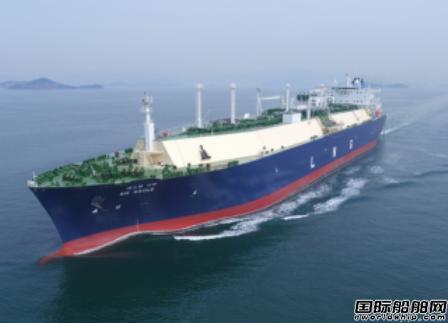 大韩海运与KOGAS签11亿美元LNG运输协议