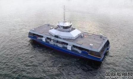 TransLink向达门订购第二艘海上巴士
