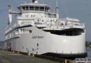 BC Ferries接收第三艘LNG动力渡轮
