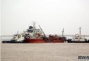 长江常州段2船相撞化工码头起火