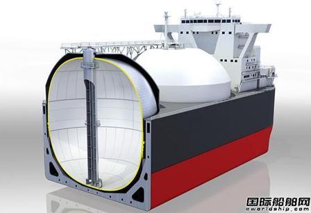 川崎重工非球型LNG储罐获ABS原则性批准