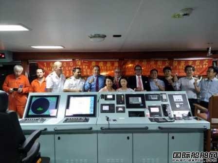 江州造船交付一艘16500吨二类化学品船