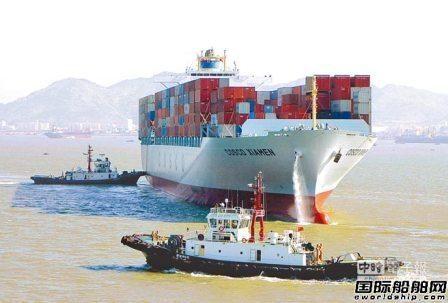 闲置集装箱船船队大幅缩水